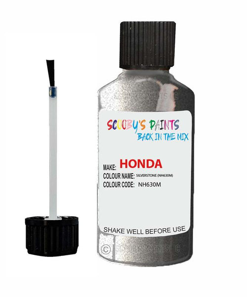 Honda Stream Silverstone Code Nh630M Touch Up Paint 1999-2011
