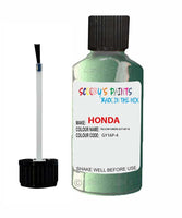 Honda Civic Yellow Green Code Gy16P-4 Touch Up Paint 1996-1997