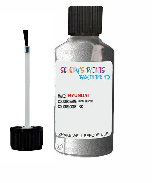 Hyundai Sonata Iron Silver Bk Car Touch Up Paint Scratch Repair