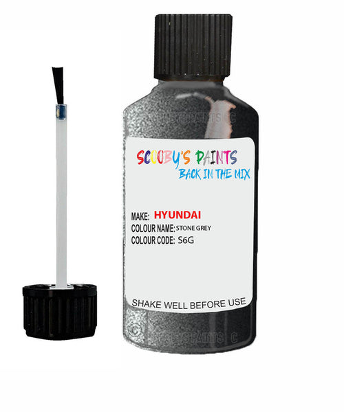Hyundai Xcient Stone Grey S6G Car Touch Up Paint Scratch Repair 2011-2019