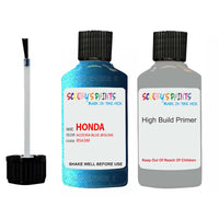 Honda Freed Aozora Blue B563M Car Touch Up Paint Scratch Repair