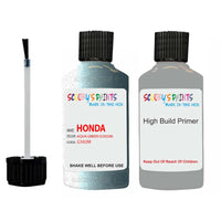 Honda Hrv Aqua Green G502M Car Touch Up Paint Scratch Repair