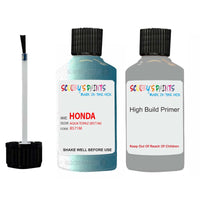 Honda Life Aqua Topaz B571M Car Touch Up Paint Scratch Repair