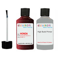 Honda Odyssey Basque Red R530P-15 Car Touch Up Paint Scratch Repair