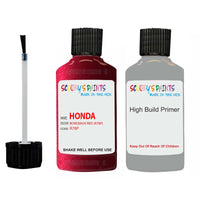 Honda Legend Bordeaux Red R78P Car Touch Up Paint Scratch Repair 1990-2003