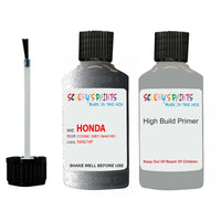 Honda Stream Cosmic Grey Nh674P Car Touch Up Paint Scratch Repair