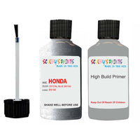 Honda Prelude Crystal Blue B91M Car Touch Up Paint Scratch Repair 1998-2002