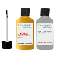 Honda Jazz Helios Yellow Y66P Car Touch Up Paint Scratch Repair