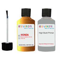 Honda Nsx Imola Orange Yr514P Car Touch Up Paint Scratch Repair