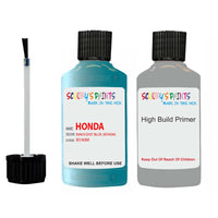Honda Insight Innocent Blue B590M Car Touch Up Paint Scratch Repair