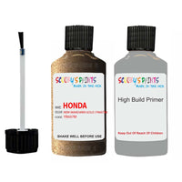 Honda Freed New Mandarin Gold Yr607M Car Touch Up Paint Scratch Repair
