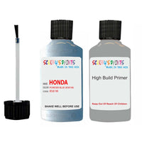 Honda Jazz Powder Blue B581M Car Touch Up Paint Scratch Repair