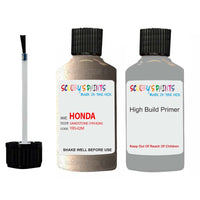 Honda Odyssey Sandstone Yr542M Car Touch Up Paint Scratch Repair
