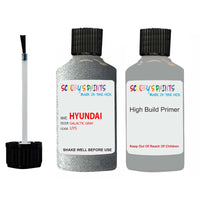 Hyundai I30 Galactic Gray Uys Car Touch Up Paint Scratch Repair