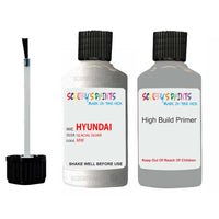 Hyundai I30 Glacial Silver Mw Car Touch Up Paint Scratch Repair 1991-2014