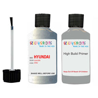 Hyundai Santa Fe Glacier V9U Car Touch Up Paint Scratch Repair
