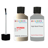 Hyundai Accent Gold Beige 9G Car Touch Up Paint Scratch Repair
