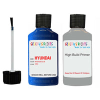 Hyundai Ioniq Intense Blue Yp5 Car Touch Up Paint Scratch Repair