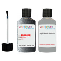 Hyundai I30 Iron Grey Yt3 Car Touch Up Paint Scratch Repair