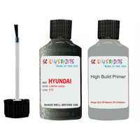 Hyundai Santa Fe Juniper Green X7E Car Touch Up Paint Scratch Repair