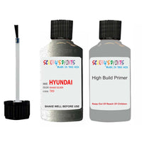 Hyundai Sonata Khaki Silver Tk9 Car Touch Up Paint Scratch Repair