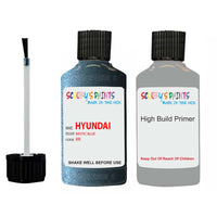 Hyundai Sonata Mistic Blue Br Car Touch Up Paint Scratch Repair 2008-2010