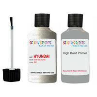 Hyundai Tucson New Mid Silver Bw Car Touch Up Paint Scratch Repair 2004-2010