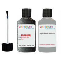 Hyundai Sonata Nocturne Grey T2G Car Touch Up Paint Scratch Repair