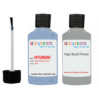 Hyundai I30 Performance Blue Xfb Car Touch Up Paint Scratch Repair