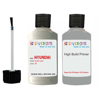 Hyundai Sonata Silver Sage Sk Car Touch Up Paint Scratch Repair 2003-2008