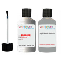 Hyundai Accent Sleek Silver Hd Car Touch Up Paint Scratch Repair 2008-2019