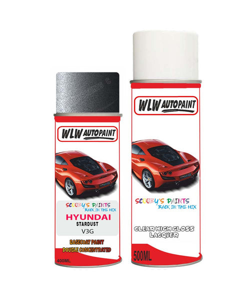 Hyundai Venue Stardust V3G Car Aerosol Spray Paint + Lacquer