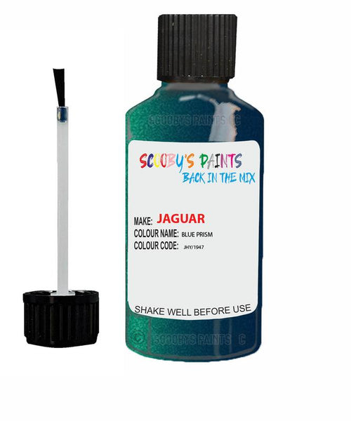 Jaguar Xj Blue Prism Code Jhy Touch Up Paint