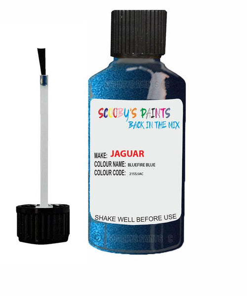 Jaguar Xe Bluefire Blue Code Jac Touch Up Paint