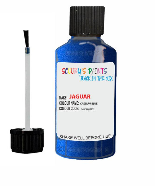 Jaguar Xe Caesium Blue Code 1Av Touch Up Paint