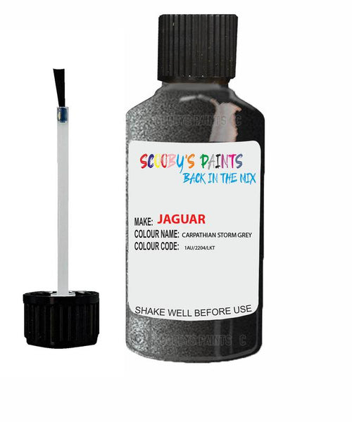 Jaguar Xfr Carpathian Storm Grey Code 2204 Touch Up Paint