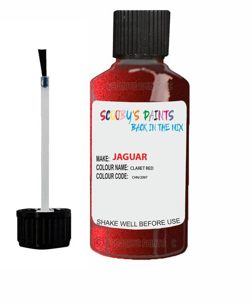 Jaguar Xfr Claret Red Code Chn Touch Up Paint 2010-2013