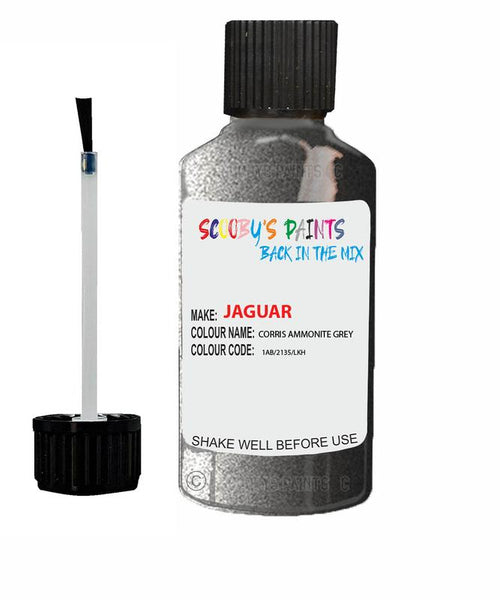 Jaguar Xe Corris Ammonite Grey Code 2136 Touch Up Paint 2015-2020