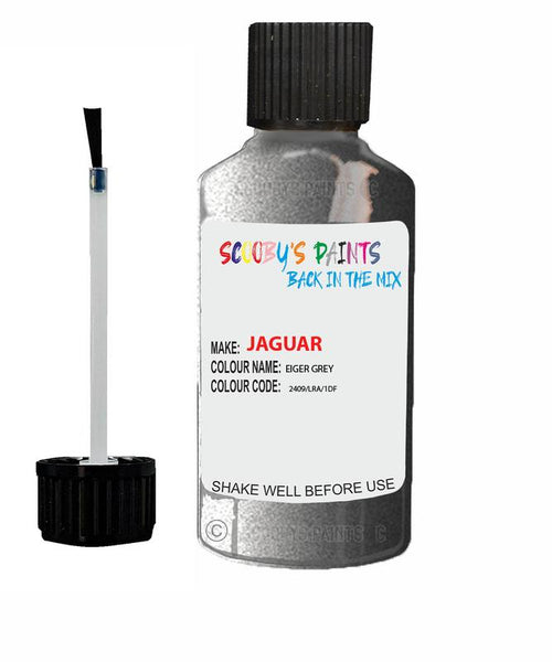 Jaguar F-Pace Eiger Grey Code 2409 Touch Up Paint 2020-2021