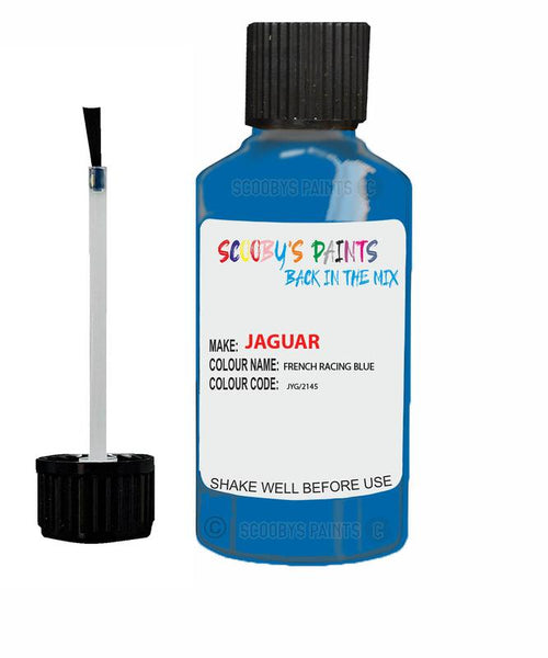 Jaguar Xfr French Racing Blue Code Jyg Touch Up Paint