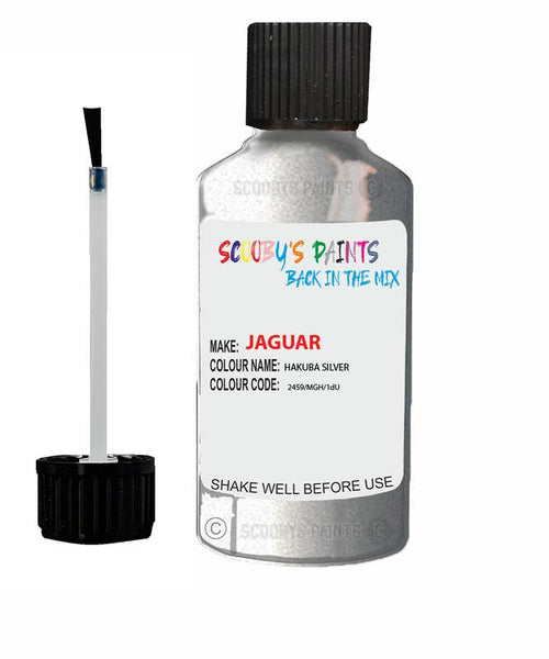 Jaguar I-Pace Hakuba Silver Code 2459 Touch Up Paint 2021-2021