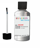 Jaguar I-Pace Indus Rhodium Silver Code 2130 Touch Up Paint 2012-2021