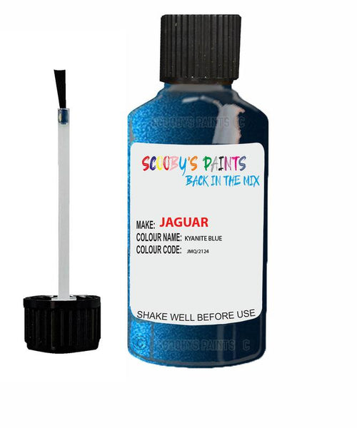Jaguar Xf Kyanite Blue Code Jmq Touch Up Paint
