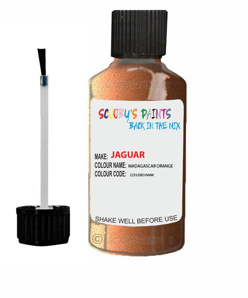 Jaguar F-Type Madagascar Orange Code 2255 Touch Up Paint 2020-2020