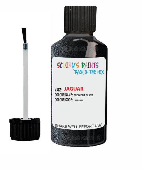 Jaguar Xj Midnight Black Code Pef Touch Up Paint