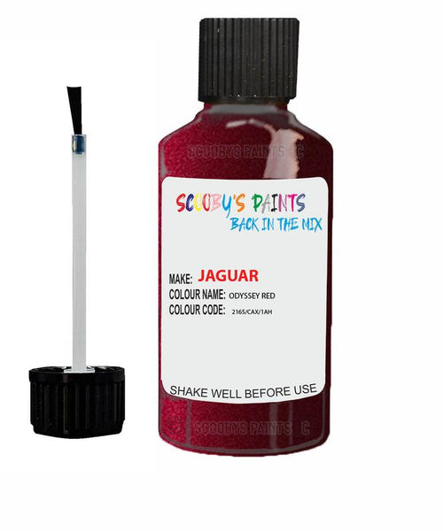Jaguar Xfr Odyssey Red Code 2165 Touch Up Paint