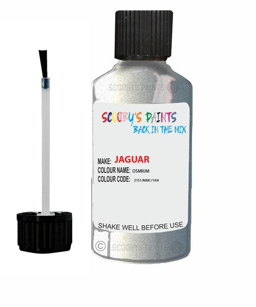 Jaguar Xfr Osmium Code 2151 Touch Up Paint 2014-2017