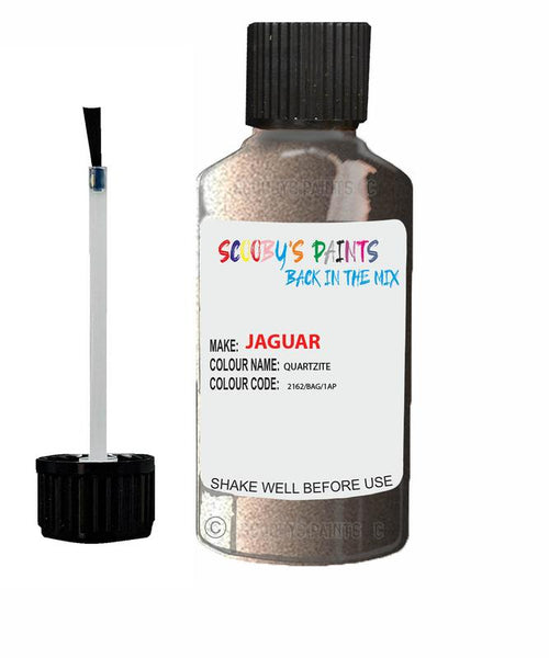 Jaguar F-Pace Quartzite Code 2162 Touch Up Paint 2013-2017
