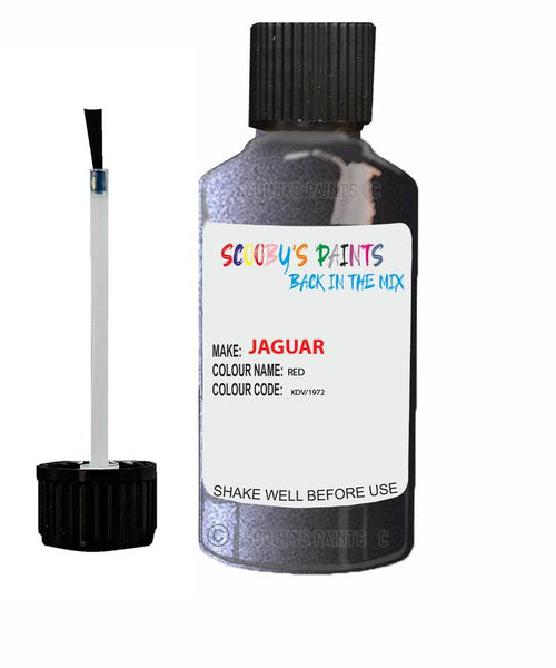 Jaguar Xj Red Brown Code Chf Touch Up Paint