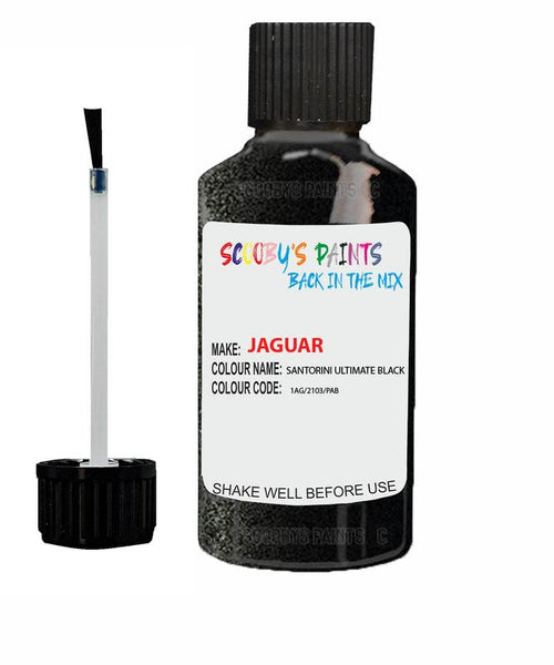 Jaguar Xfr Santorini Ultimate Black Code 2103 Touch Up Paint 2008-2021